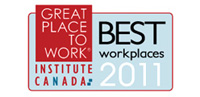 2011 Best Workplaces Logo