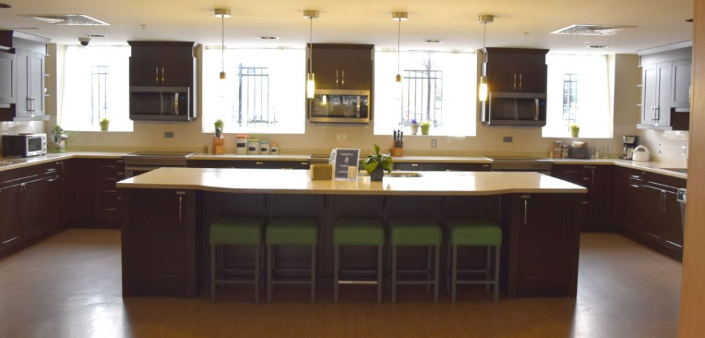 The Hamilton Ronald McDonald House Shared Kitchen